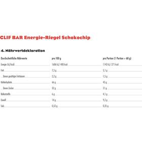 CLIF Bar Energybar Box 12x68g, Chocolate Chip